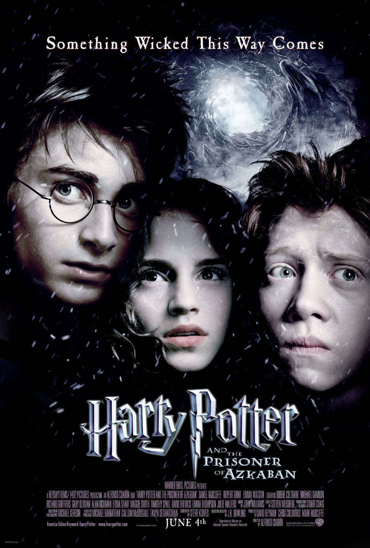 Alfonso Cuaron Harry Potter Movie Posters Prisoner Of Azkaban Harry Potter Movies