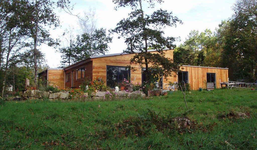 TREFLAN - Villa F3 de 189 m² en bois avec ossature en acier - fenetre pour maison passive