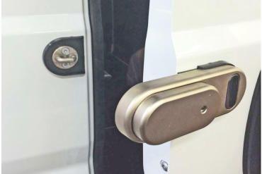 Promaster External Locking Solution High Security Delivery Van Lock Unbreakable External Automatic Locking Solution For Commercial Commercial Van Lock Van
