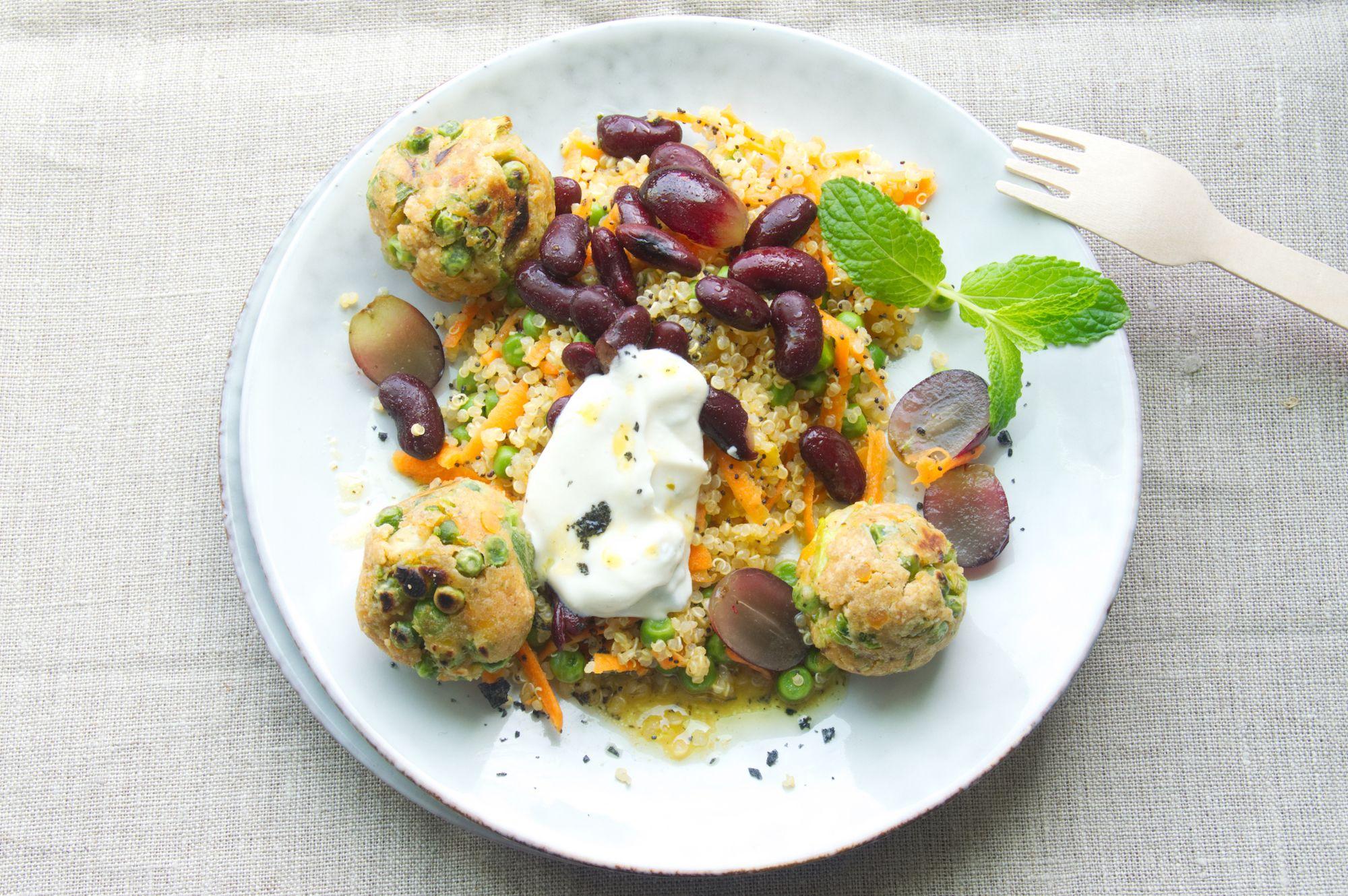 Bohnen salat diat