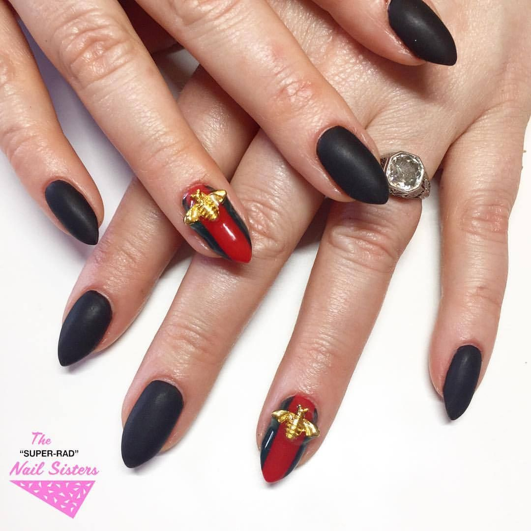 The Super Rad Nail Sisters Melbourne Nail Art More Gucci