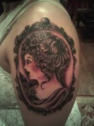 victorian cameo tattoo - Google Search