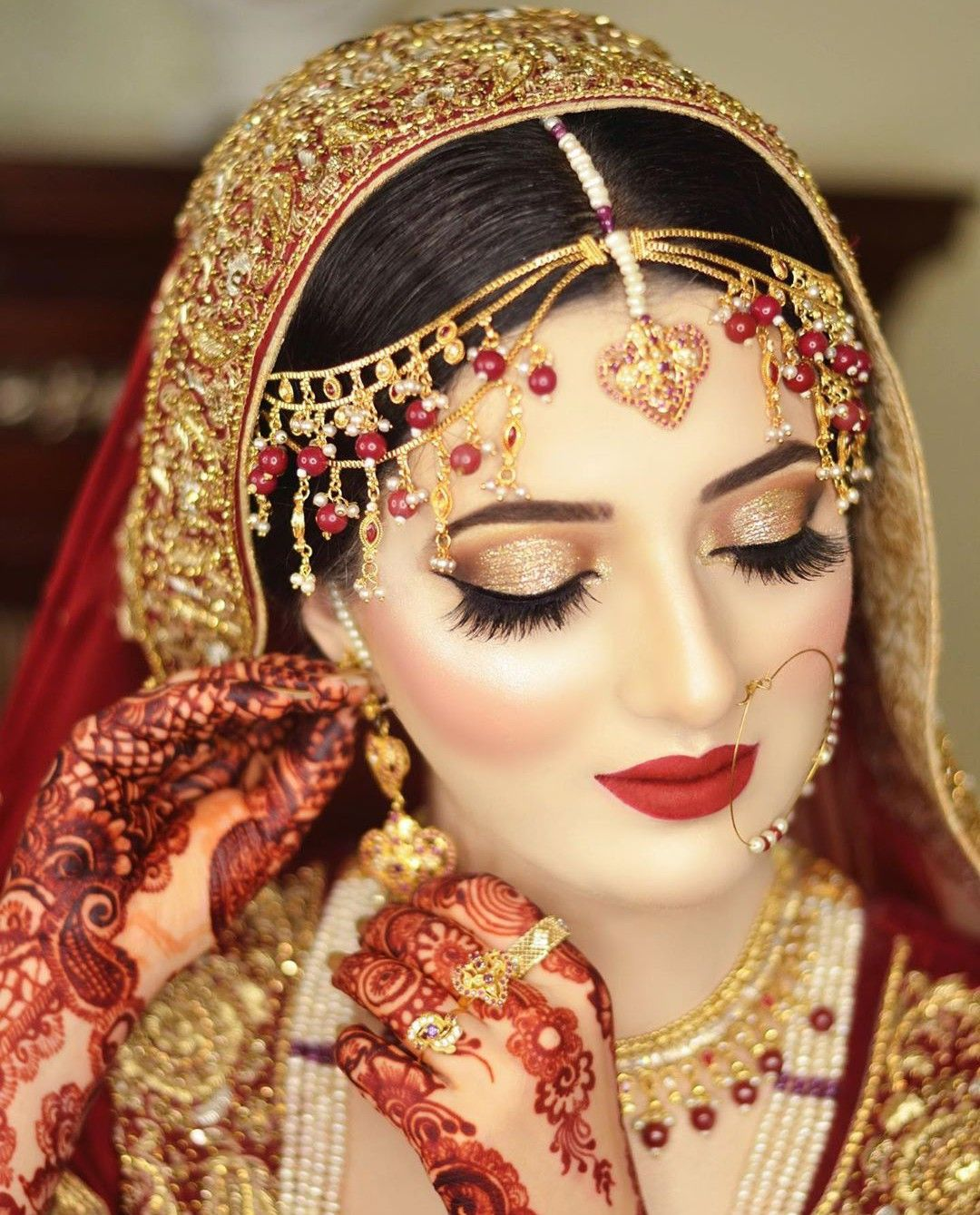 Pin by 👑mar u.j👑 on Bridal,s in 2020 Indian bridal