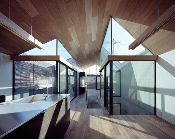 neut house par apollo architects associates baies vitr es lumi re naturelle et dentiste. Black Bedroom Furniture Sets. Home Design Ideas