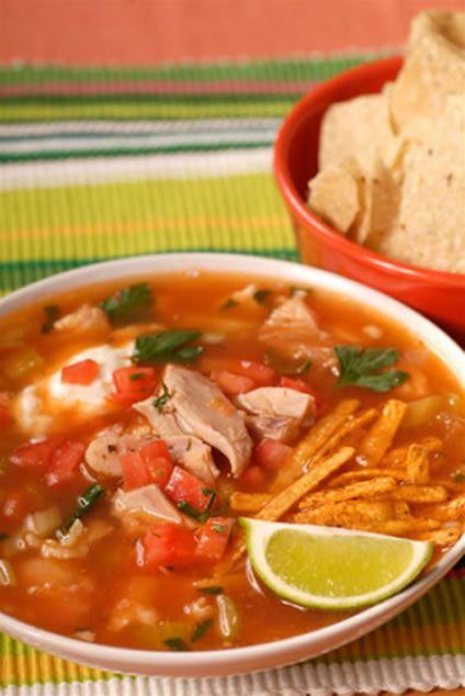 Ina Gartens Chicken Tortilla Soup Recipes On Deck Pinterest