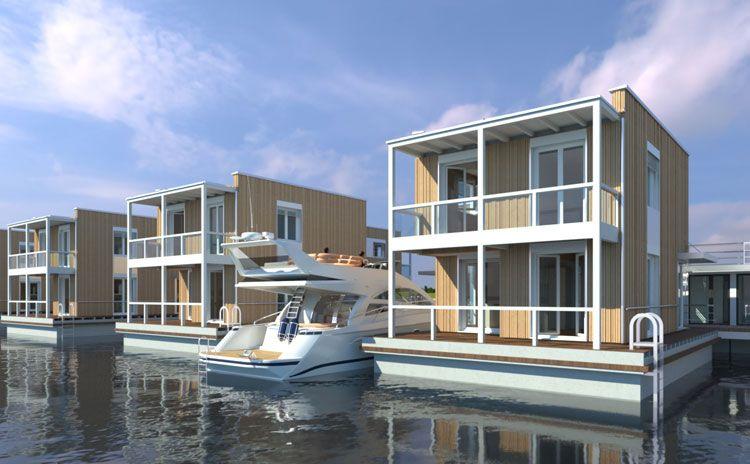 floating houses ostsee darss kaufen Schwimmende häuser