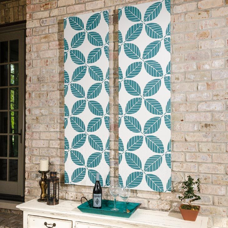 How To Make Outdoor Fabric Wall Art Video Fabric Wall Framed Fabric Wall Art Fabric Wall Art