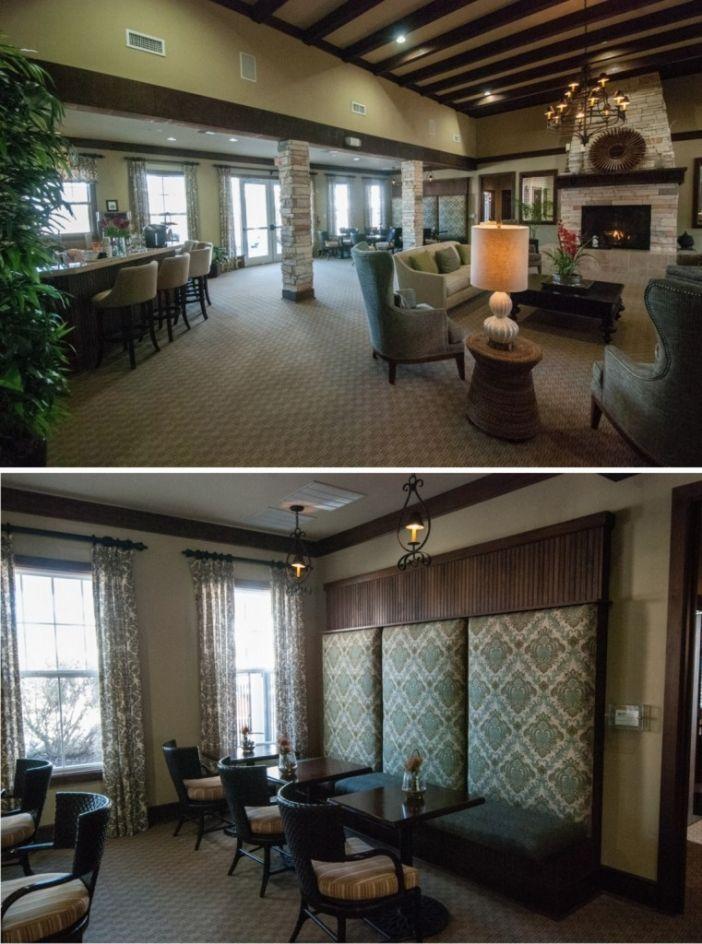 Hampton VA Commercial Interior Design, Falcon Creek Clubhouse, www ...