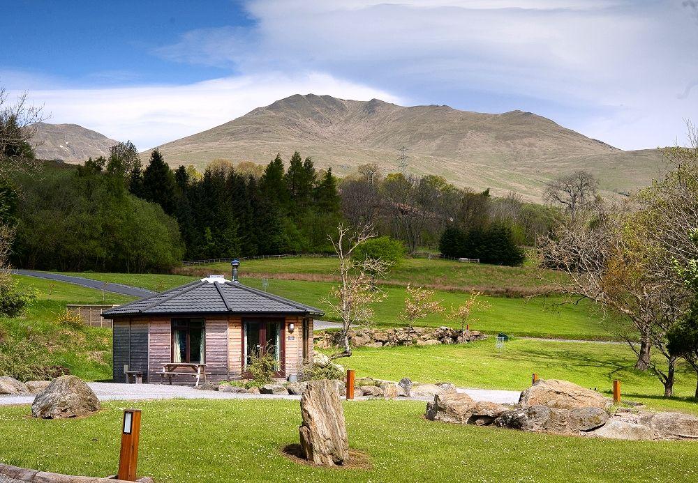Loch Tay Highland Lodges #cabins #scotland #travel | Cabin ...