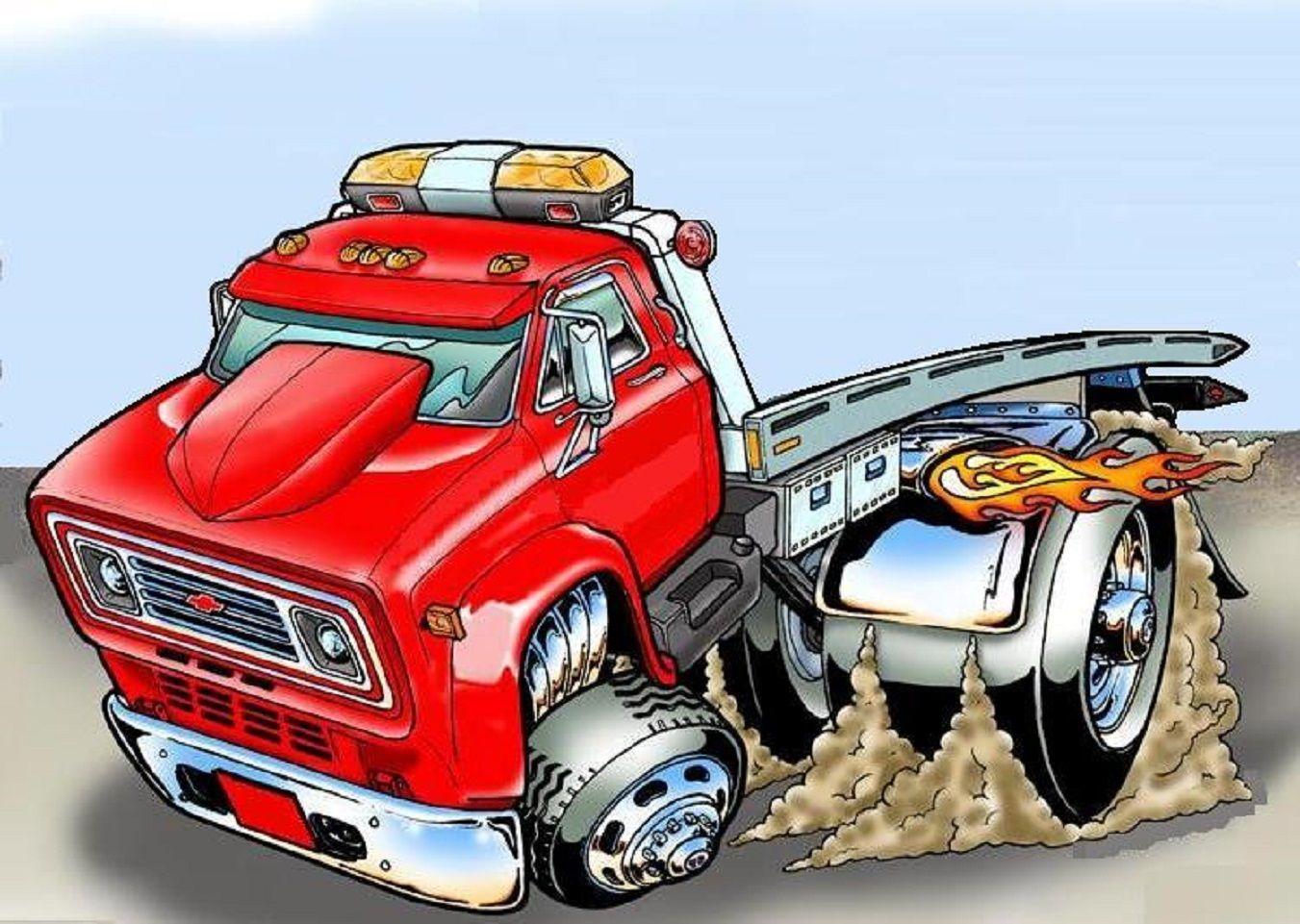 Pin By Anthony Waukon On Towing With Images Art Cars Cartoon