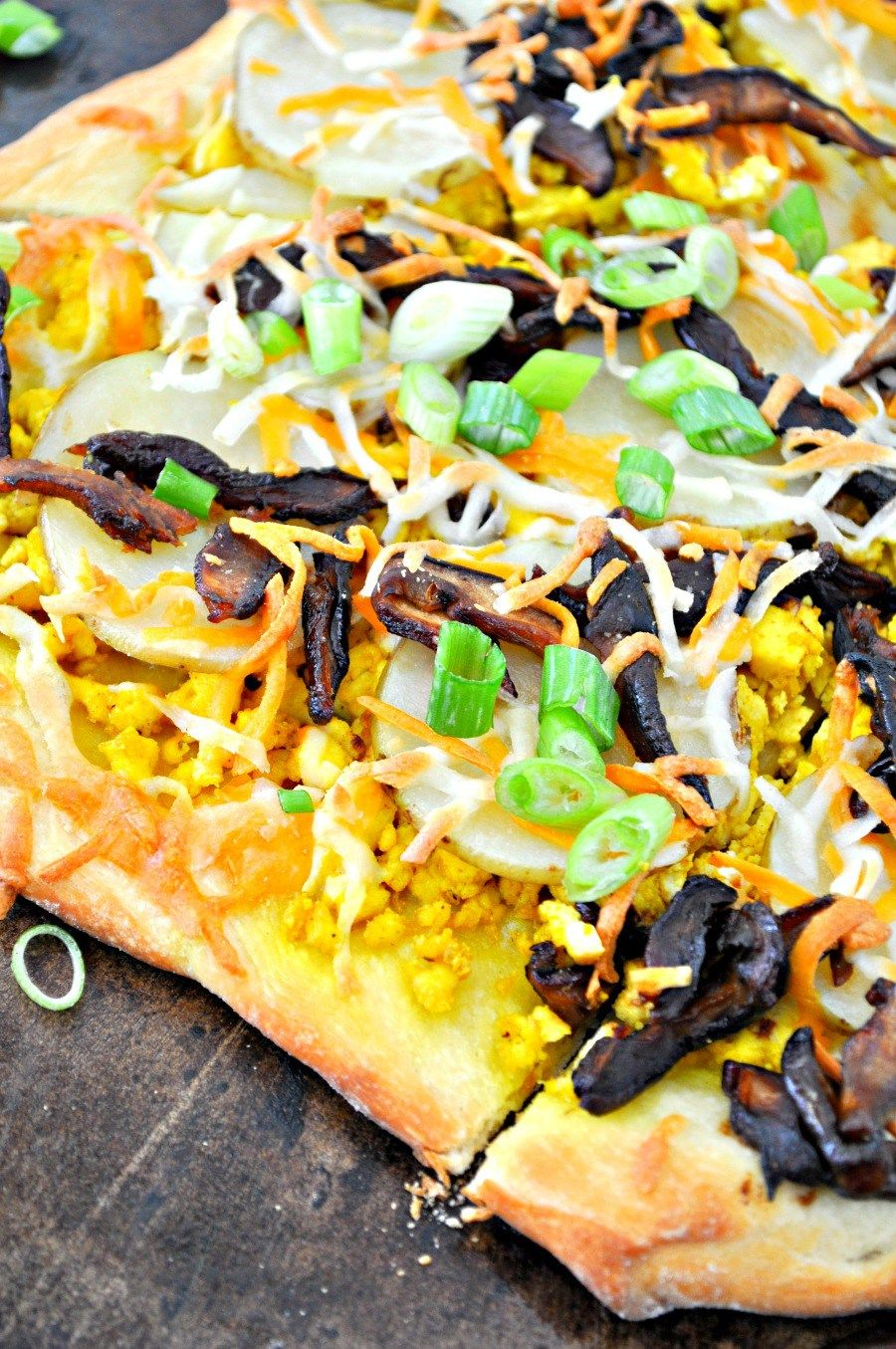 Vegan Breakfast Pizza Rabbit And Wolves Recipe Vegan Breakfast Pizza Breakfast Pizza Breakfast