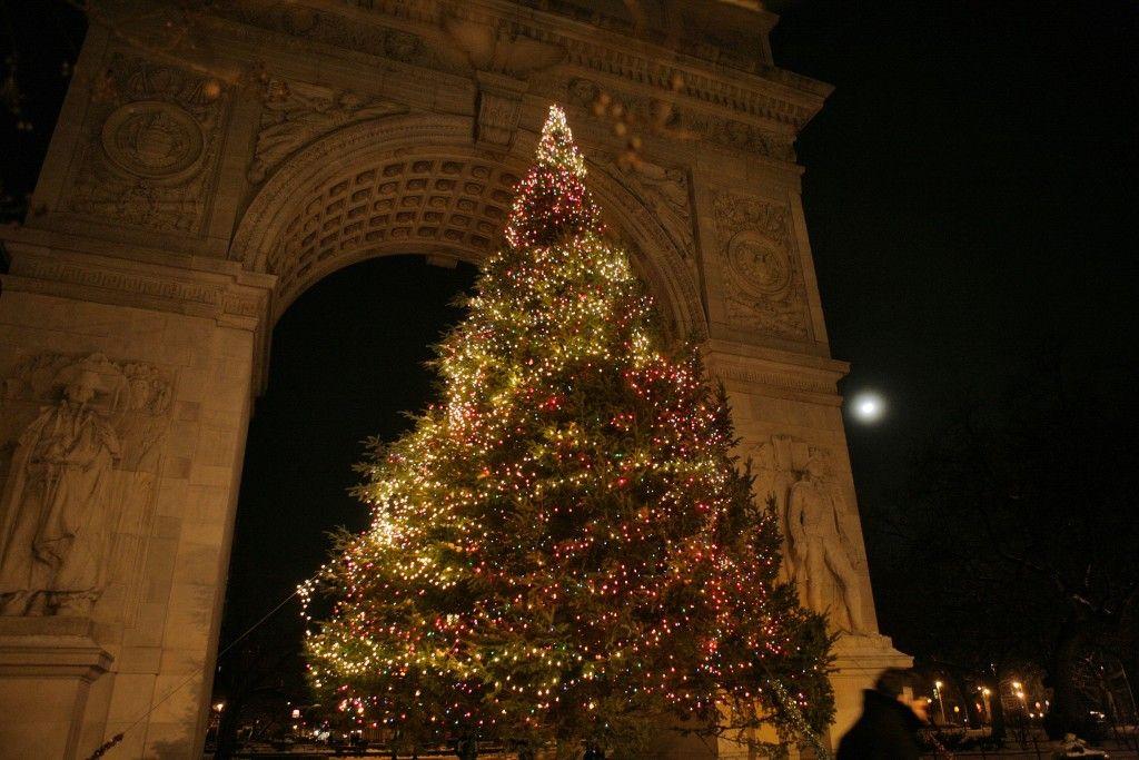 Washington Square Park Tree Lighting, 2015 - Washington Square Park Tree Lighting, 2015 Christmas Around The