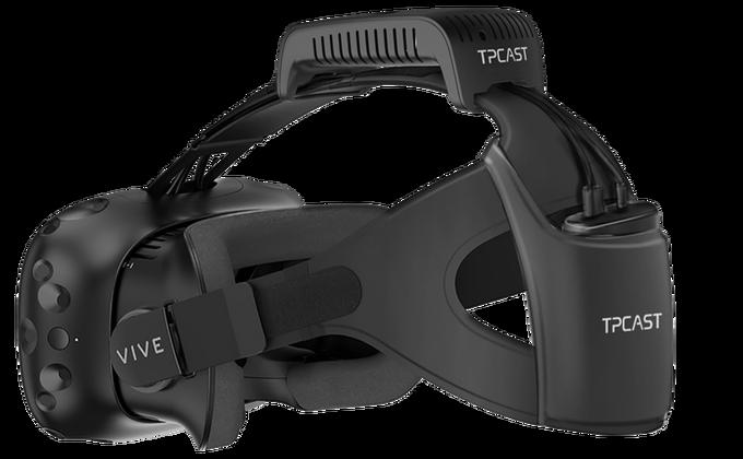 Htc S Vive Vr Headset Gets Unplugged Via 220 Wireless Add On Techcrunch