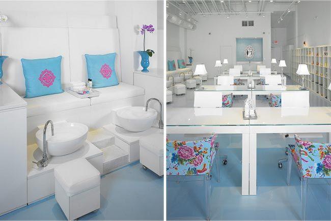 Manos arriba los 12 salones de manicura m s bonitos 1 - Decoracion para casas pequenas ...