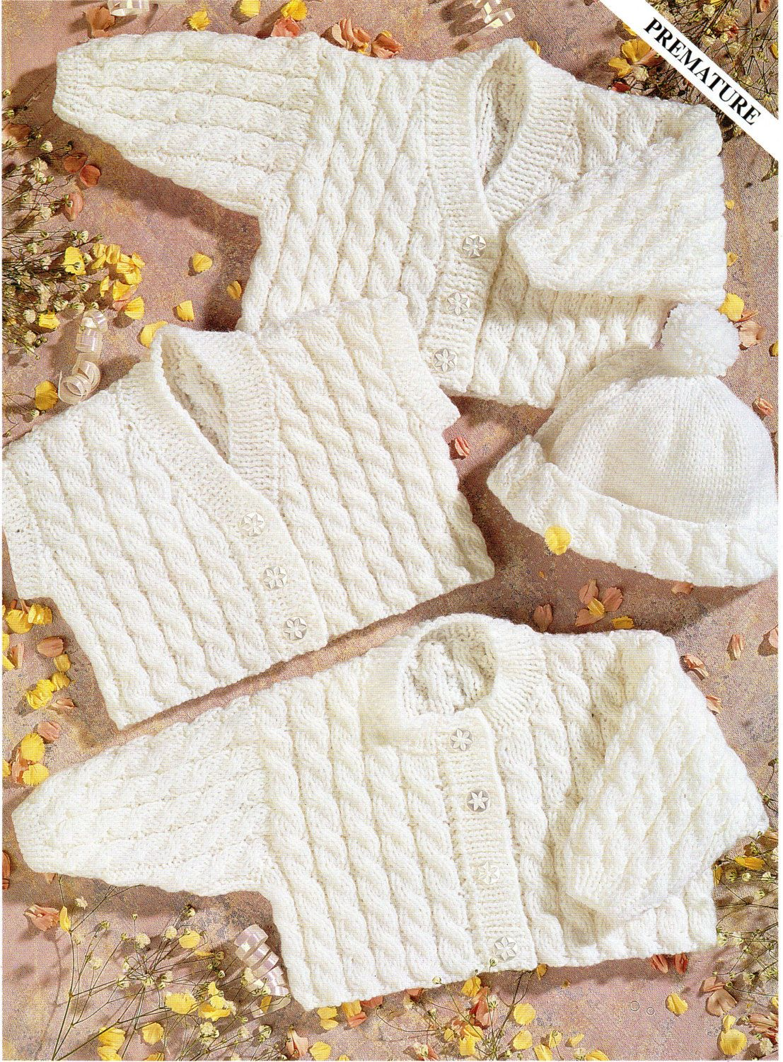 Baby cable cardigans waistcoat hat knitting pattern pdf premature baby cable cardigans waistcoat hat knitting pattern pdf premature newborn bankloansurffo Image collections