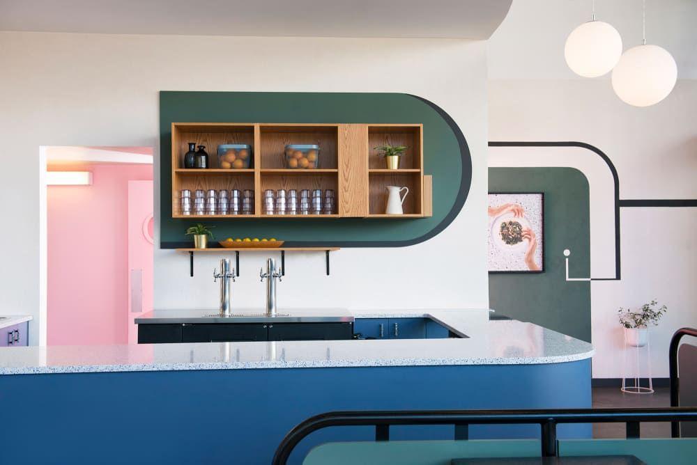 Superbaba Nahost-Küche mit Retro-Charm Room