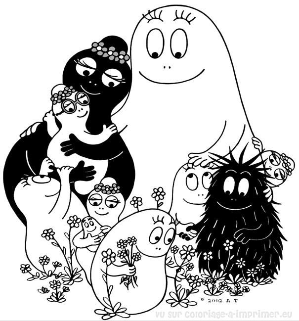 Coloriage des barbapapa 3 coloring pages pinterest coloriage colorier and coloriage - Dessin lampion ...