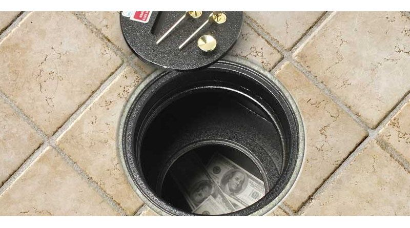 A Safe Offers Many Advantages When Hidden Under The Floor. But There Are  Also Some