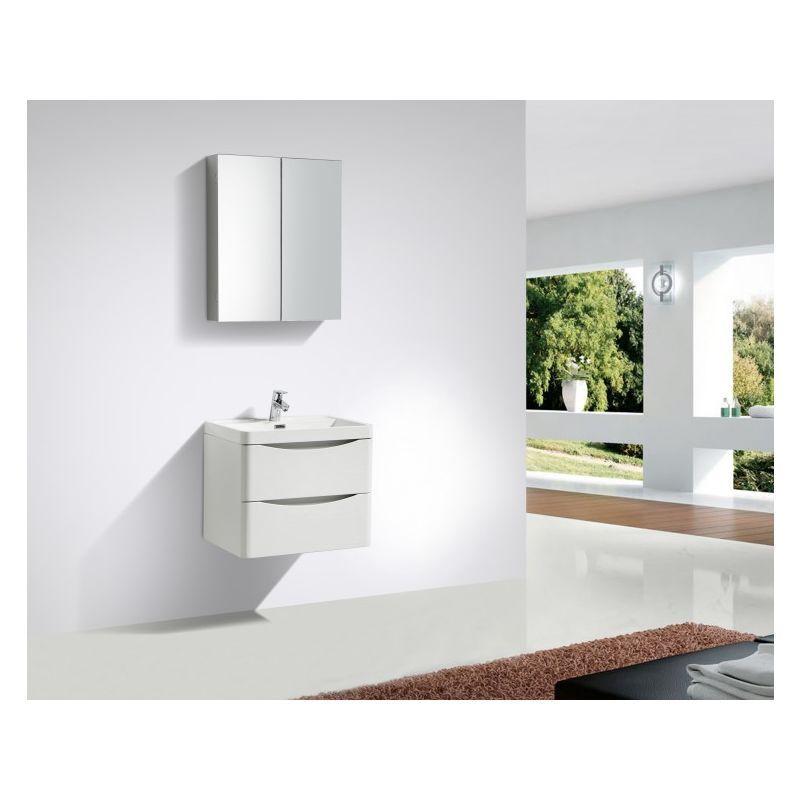 Ensemble salle de bain SMILE 600 - blanc lys - en option ...