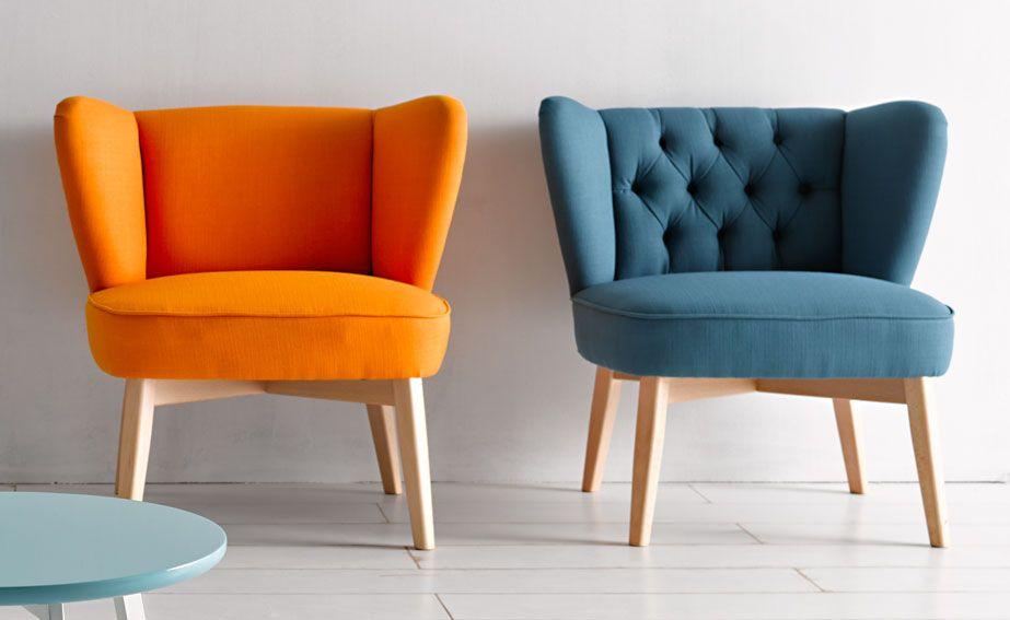 Butaca moderna viskan home telas para tapizar muebles - Sofas individuales modernos ...