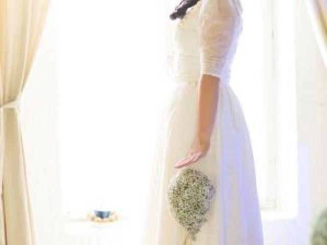Winterhochzeit Brautkleid