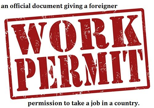 #Definition Of #work Permit. #immigration #job