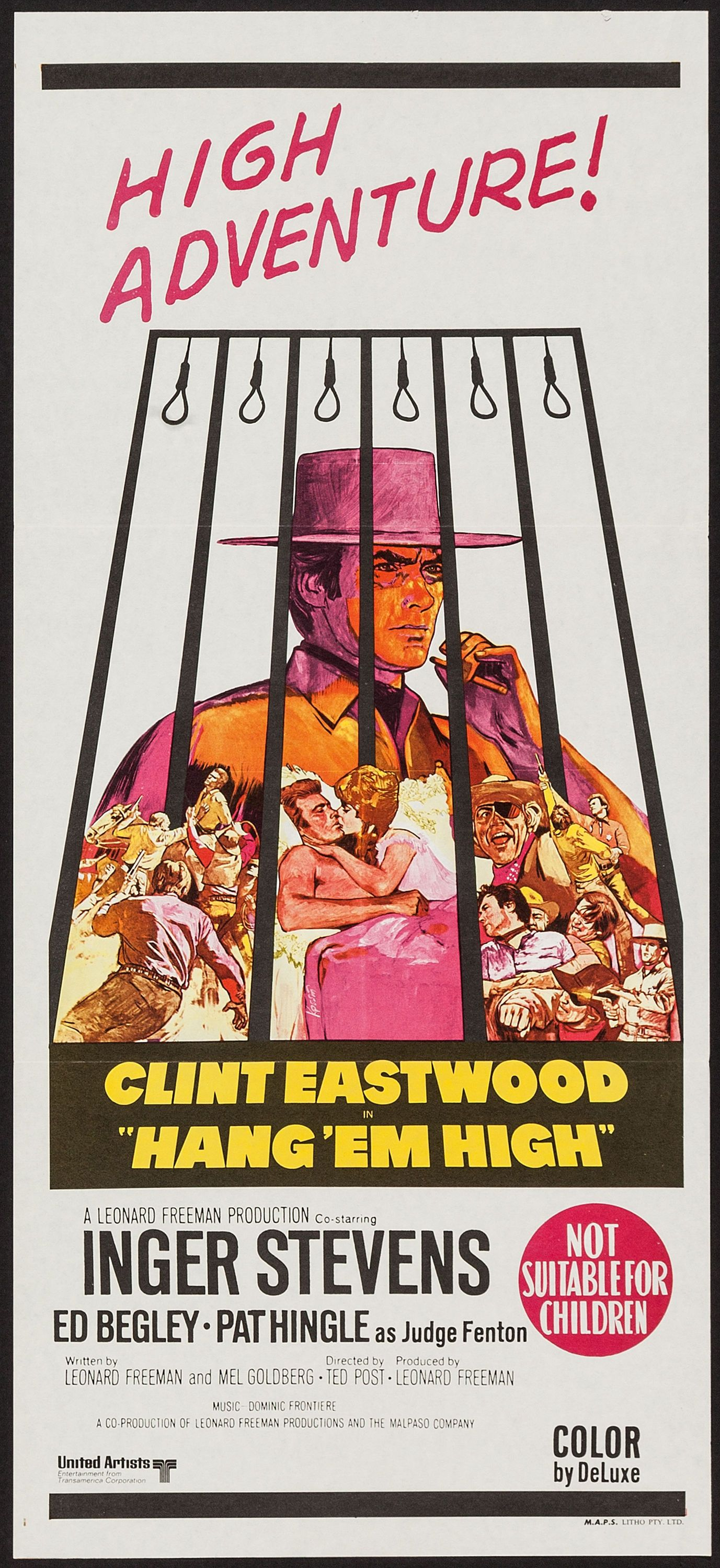 HIGH NOON spanish movie poster United Artists, 1952