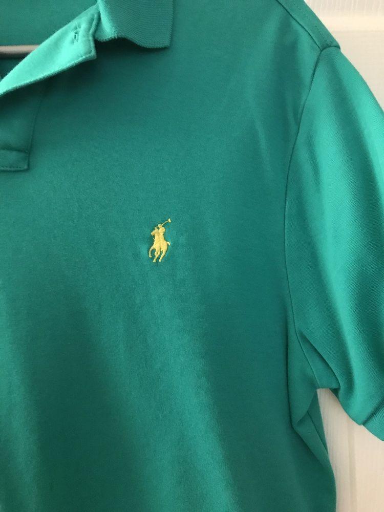 d1160fbace7 Men s Polo Ralph Lauren mesh short sleeve shirt TEAL medium  fashion   clothing  shoes  accessories  mensclothing  shirts (ebay link)
