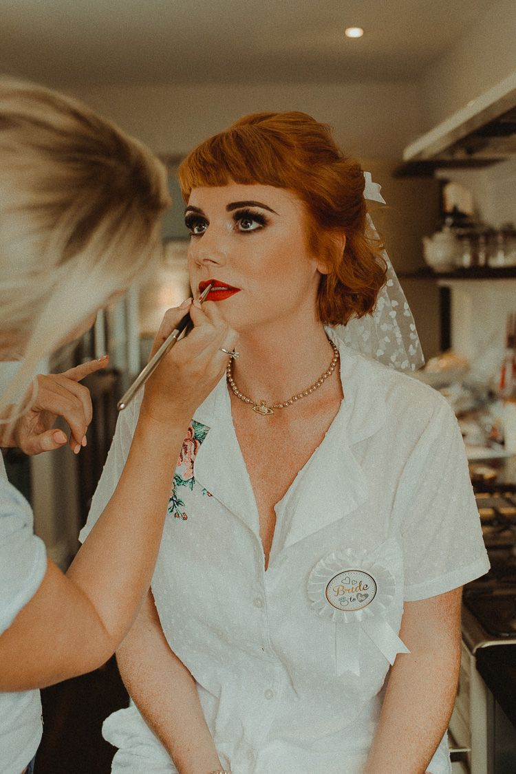 eclectic & kitsch retro fete wedding | fun stuff to have