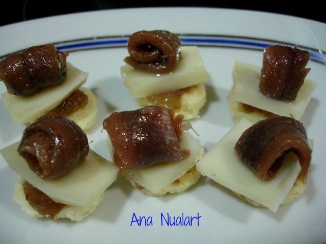 La cocinera de Bétulo: APERITIVO CON ANCHOAS   aperitivos ...