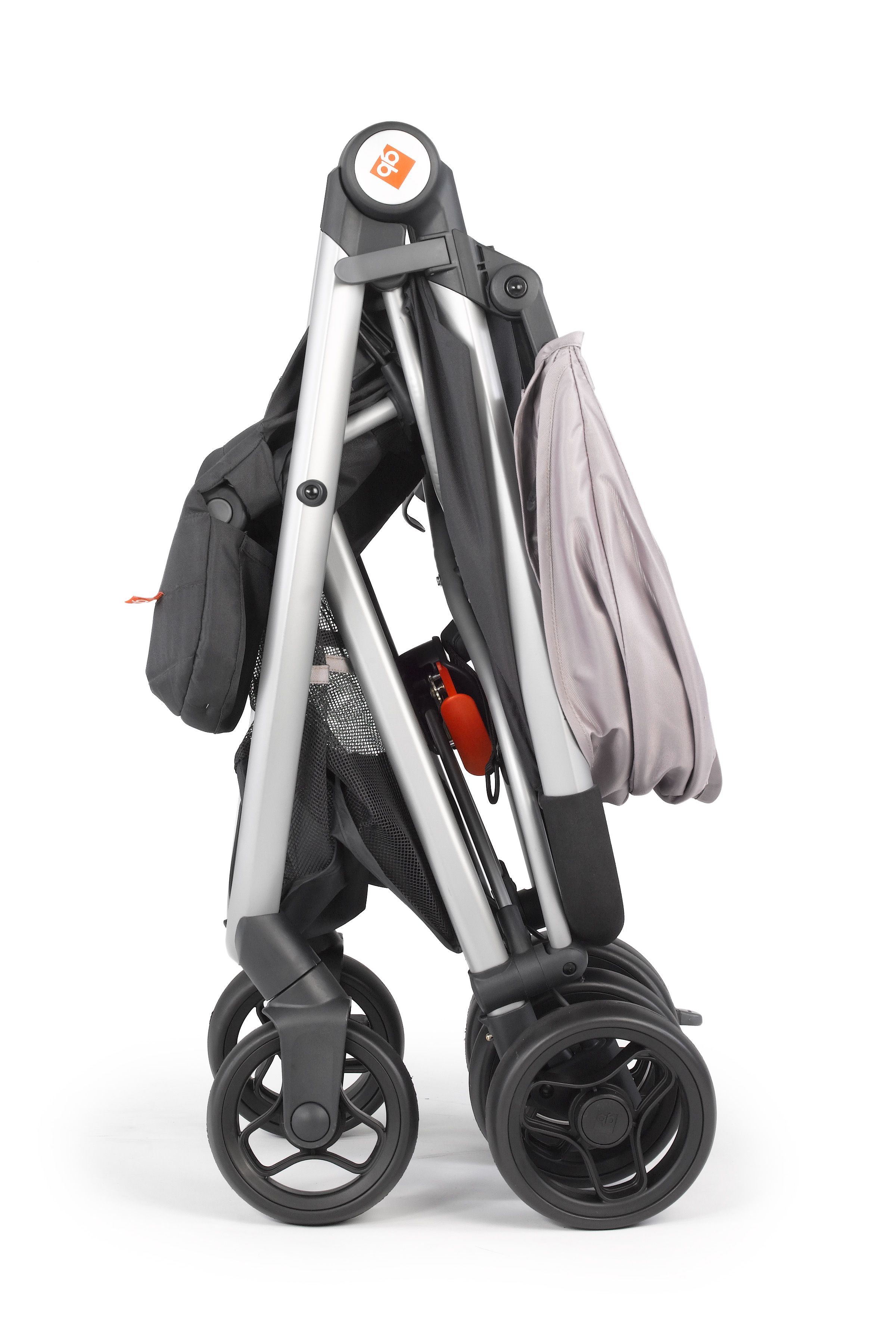 GB Alara Travel System. Compact fold perfect for city life