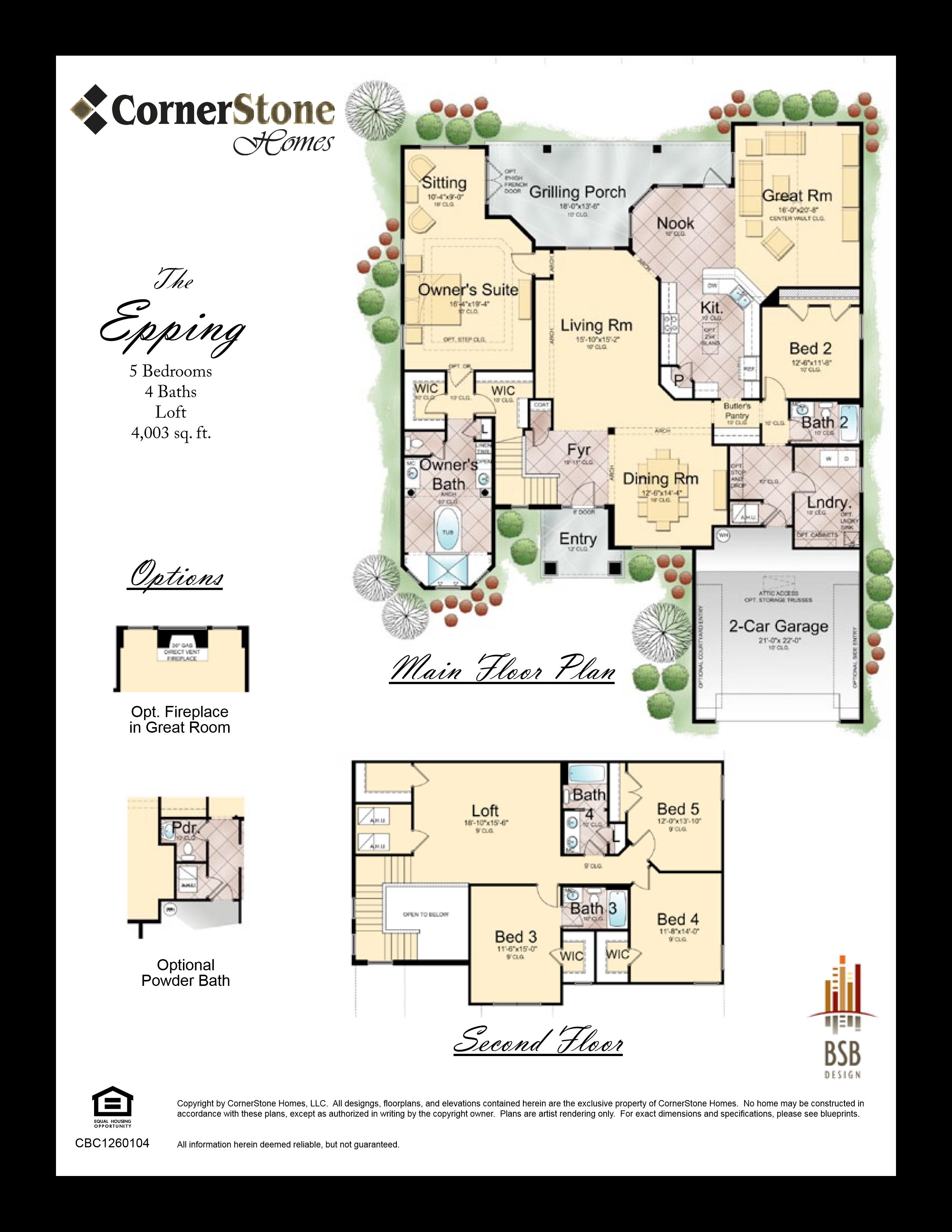 Floor Plan Epping Cornerstone Homes Floor Plans House Floor Plans How To Plan