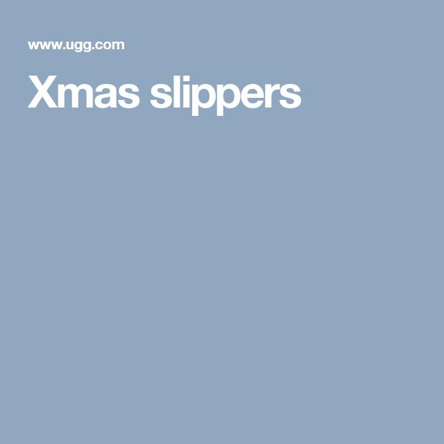 Xmas slippers