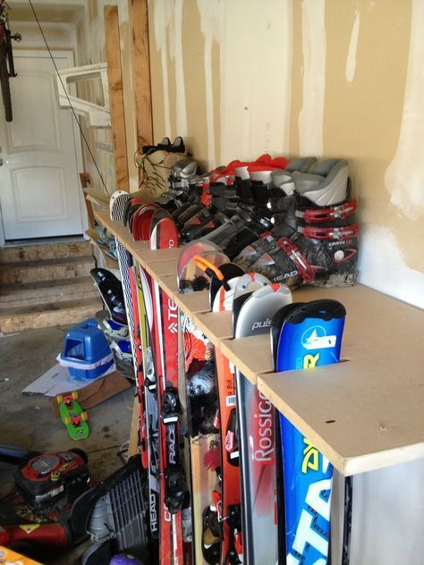 garage organization skis - Google Search#garage #google #organization #search #skis