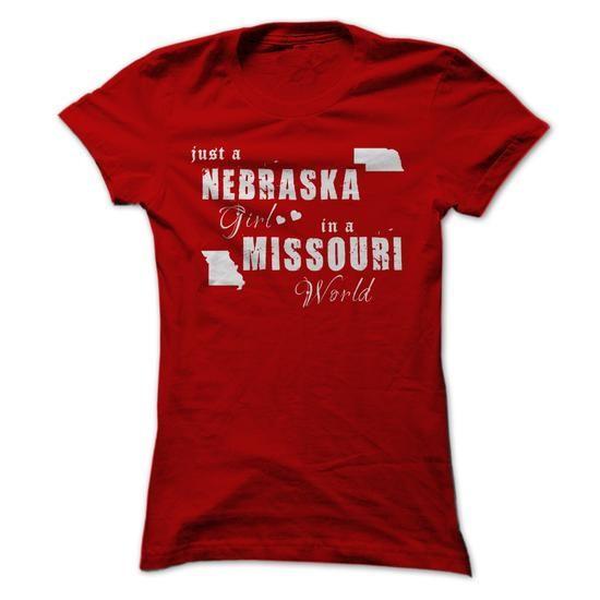Nebraska Girls in Missouri - #sweatshirt quotes #sweatshirt street. GUARANTEE => https://www.sunfrog.com//Nebraska-Girls-in-Missouri-ladies.html?68278