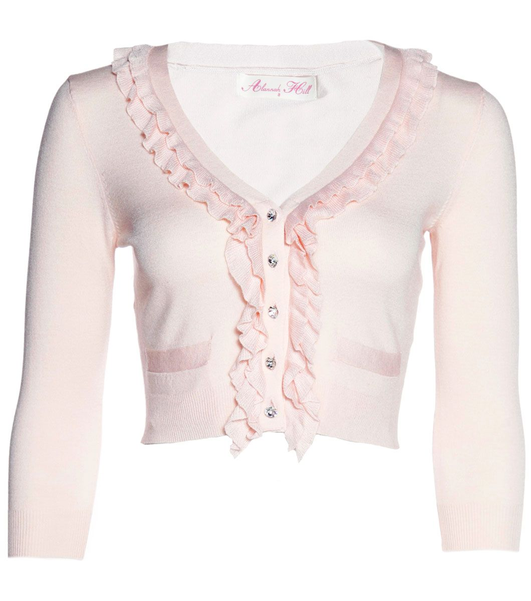 Alannah Hill Pale Pink Cardigan | Shades of Pink | Pinterest ...