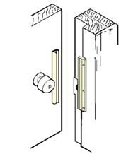 6 Inch Inswing Door Security Latch Guard Don Jo Ilp 206 Doorware Com In 2020 Security Door Latches Metal Door