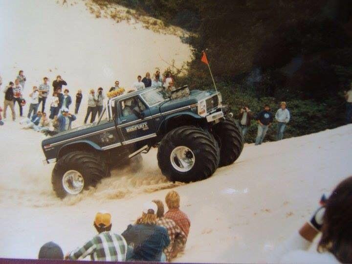 Bigfoot 1 Silver Lake Sand Dunes Hill Climb Big Monster Trucks