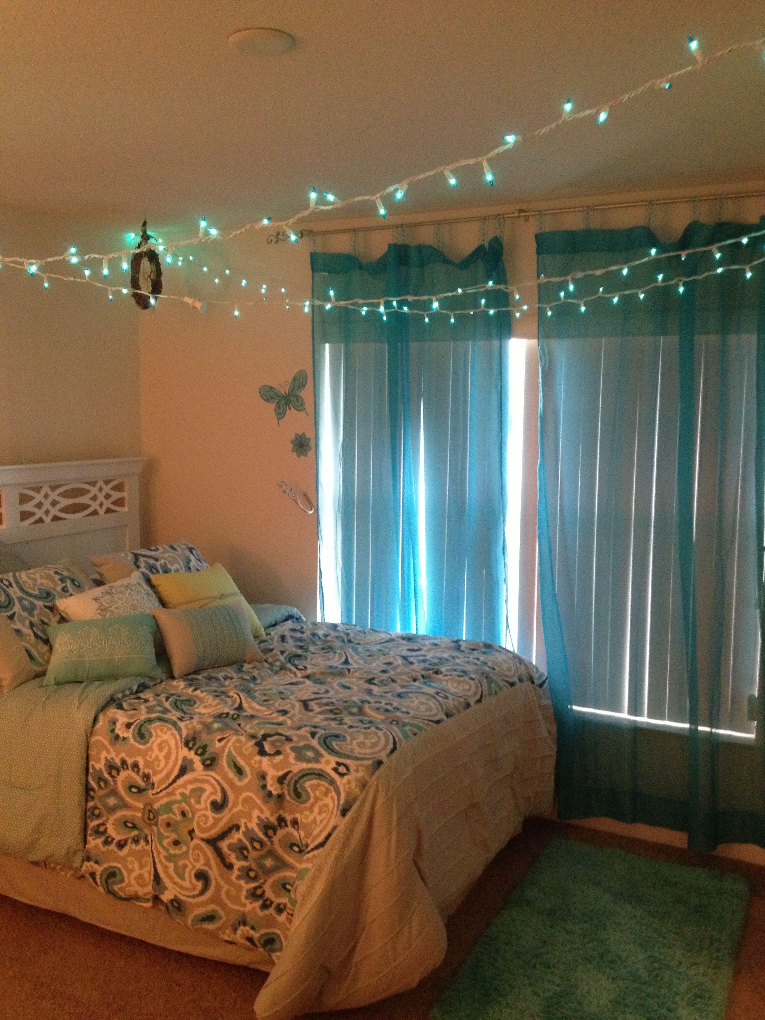 Girls bedroom idea imagine it lime green