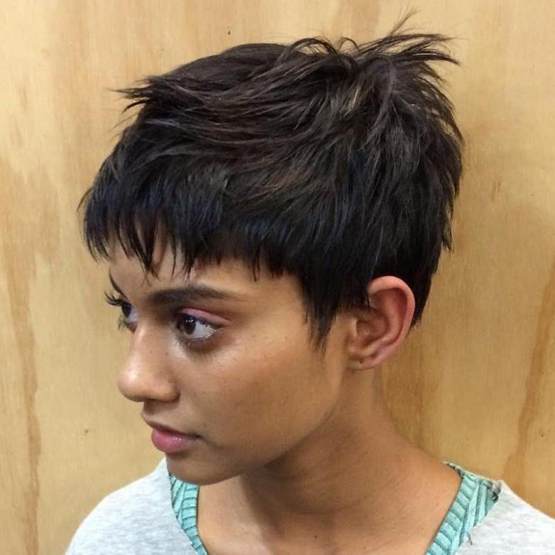 Freche kurzhaarfrisuren dickes haar
