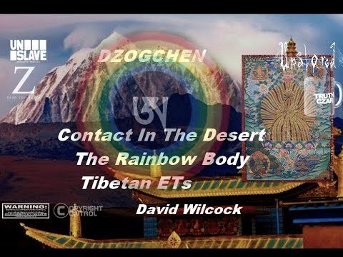 Contact In The Desert   David Wilcock   The Rainbow Body, Tibetan ETs