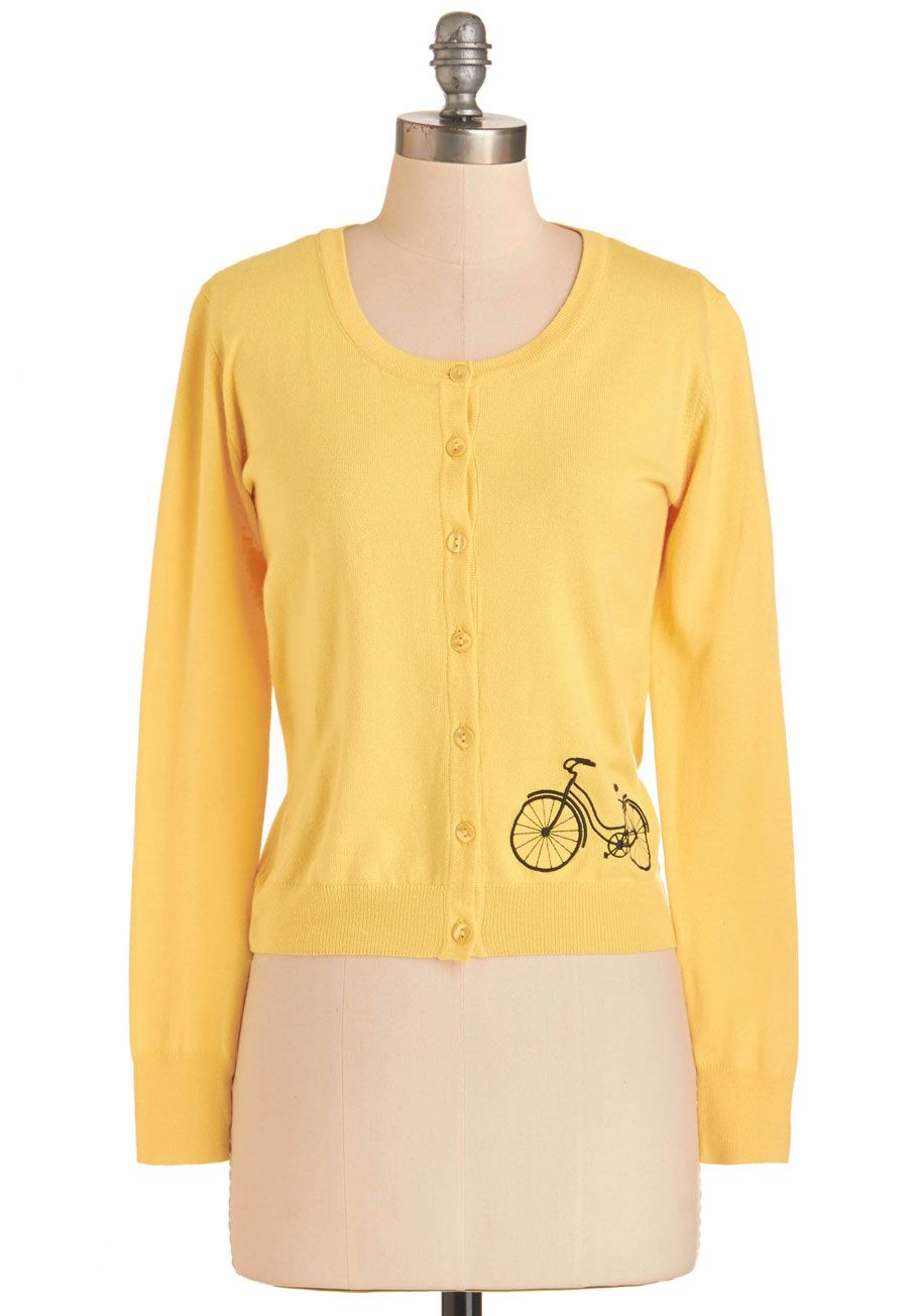 Bicycle Education Cardigan, #ModCloth | My Dream Closet ...