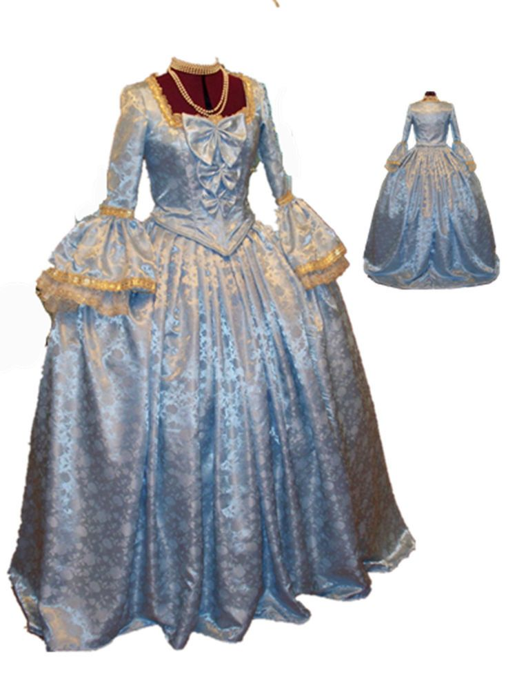 Marie Antoinette Colonial Beethoven Waltz Masquerade Dress Costume ...