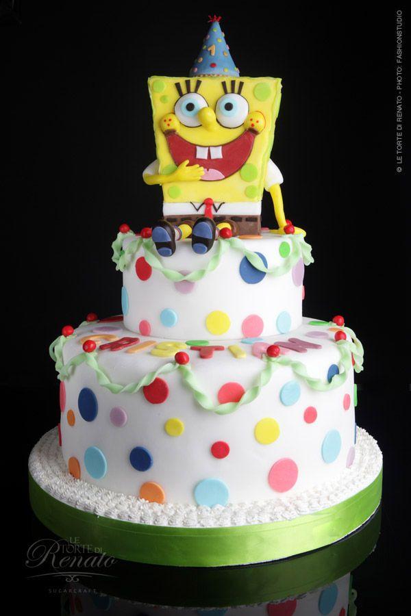 Pleasant Spongebob Squarepants Cake I Want Spongebob Cake Spongebob Birthday Cards Printable Inklcafe Filternl