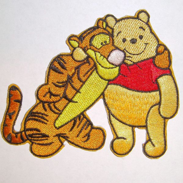 Pooh and Tigger Applique, Item #1101