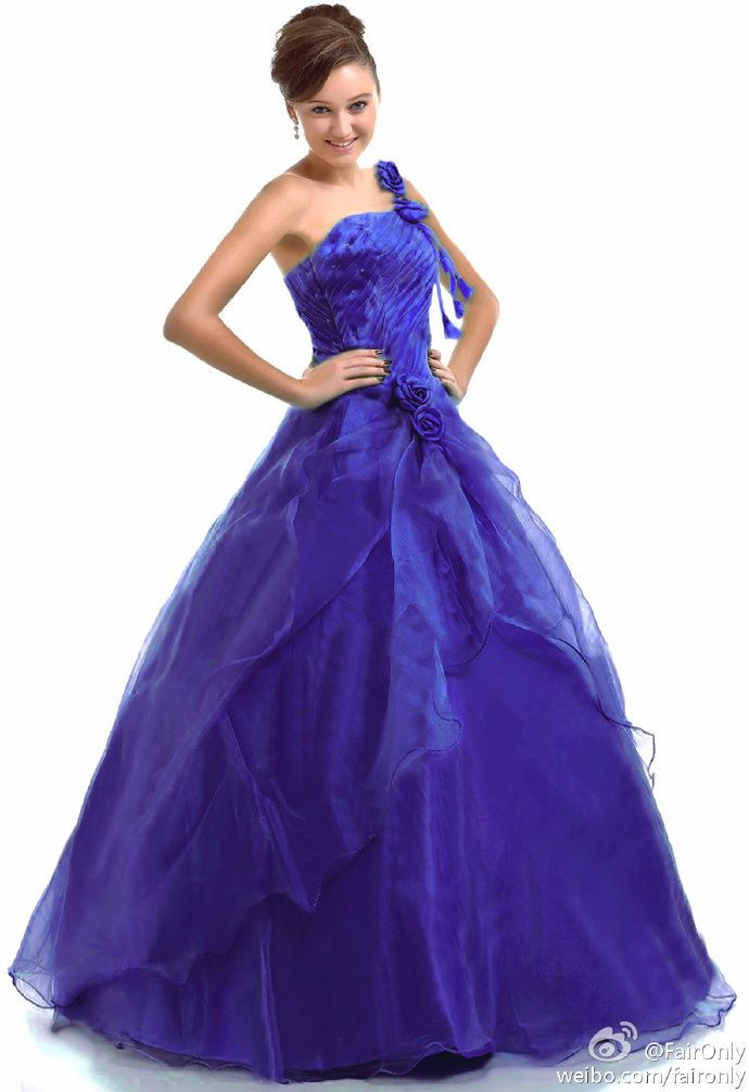 Long Evening Quinceanera Formal Party Prom Dress Ball Gown Size 6 8 ...