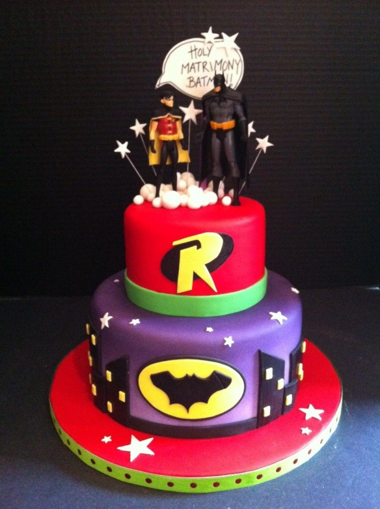 Remarkable Pictures Of Batman And Robin Cakes Share Batman Cakes Novelty Personalised Birthday Cards Vishlily Jamesorg