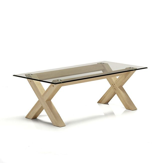 Peker Table Basse En Verre Et Ch Ne Home Sweet Home Pinterest