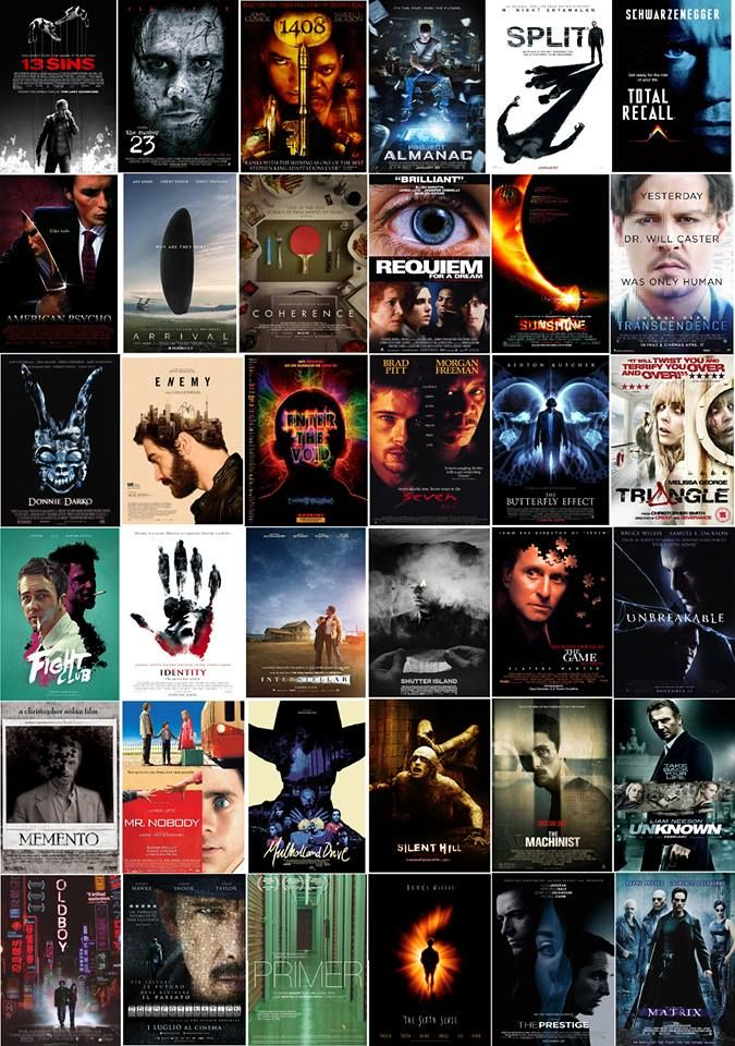 Mindfuck movies | Thriller movies, Thriller movie, Top