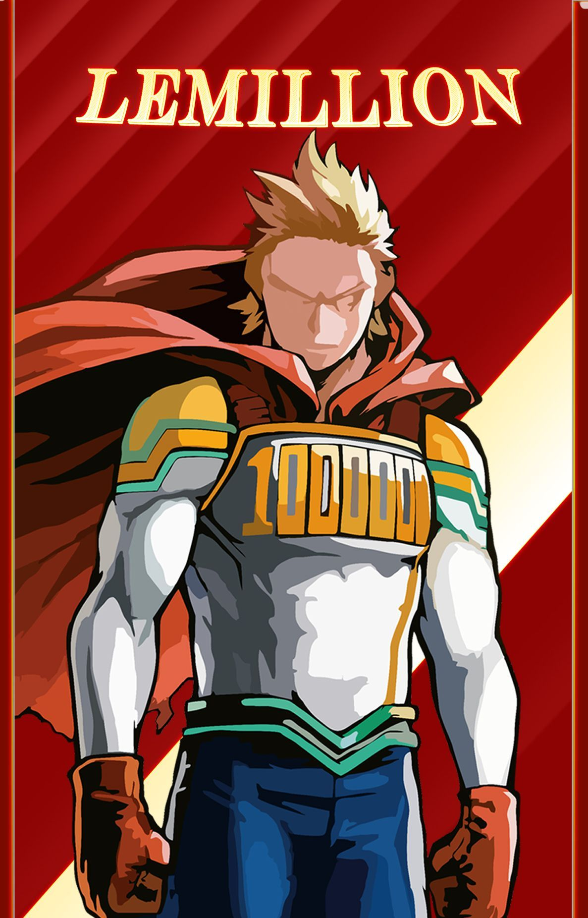ヒーローLemillion in 2020 My hero academia episodes, Hero